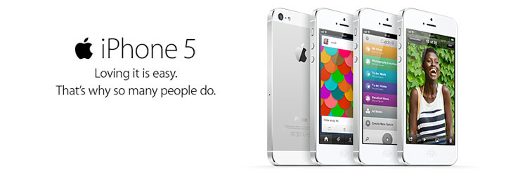 iPhone 5. Order yours now. Find out more.